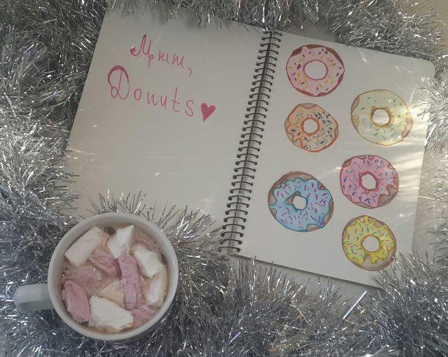 Sketchbook Donuts Drew Winter