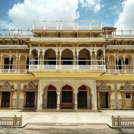 Mubarak Mahal. Jaipur Citypalace