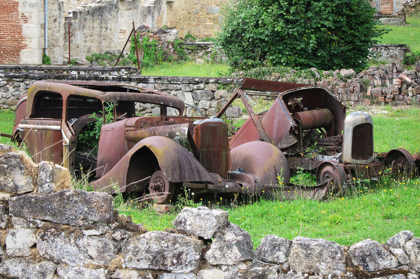 A village Frozen in time Abandoned Bad Condition Damaged Destruction Deterioration History No People Old Ruin Rusty Scrap Metal Stationary The Past Transportation