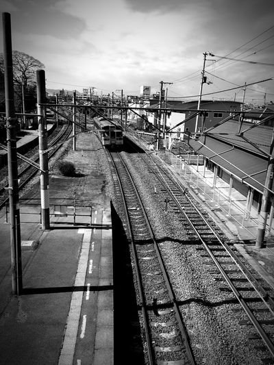 Business Trip Ehime 単線 のどか 出張 愛媛 Brackandwhite IPhoneography