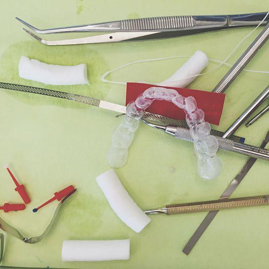 Dentist Tabletop Zahnarzt Schiene