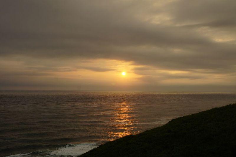 Sunset Nature Tranquility Sea Scenics EyeEm Nature Lover Eye4photography  Horizon Over Water Sunset Silhouettes