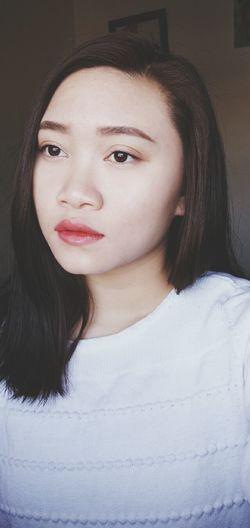 Selfprotrait Sad Photography Noobie Makeup Makeover Faceless