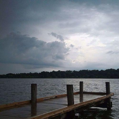A rainy day at White Rock Lake in Dallas, Texas. Rainy Texas Dallas White Rock Lake