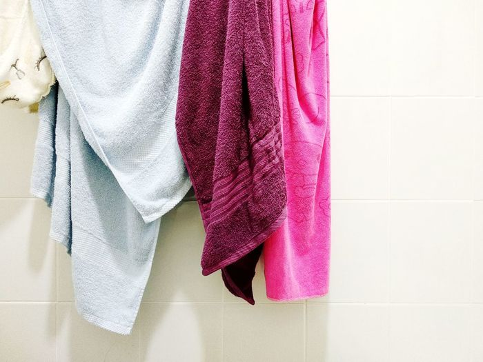 Close-Up Of Clothes Drying