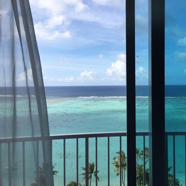 Beach Window Relaxing