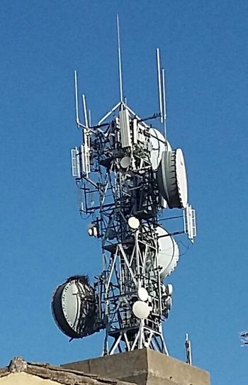Phone Global Communications Communication Telecommunications Equipment Antenna - Aerial Technology Connection Clear Sky