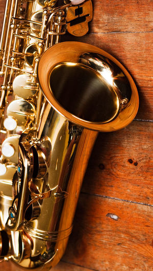 Music Musical Instrument Brass Wind Instrument Brass Instrument  Trumpet Saxophone Arts Culture And Entertainment Metal Close-up Gold Colored No People Indoors  Day Jazz Music University Art Is Everywhere The Week On EyeEm