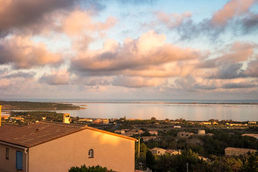 Beauty In Nature Cloud - Sky Fitougraphie Laurent Vankilsdonk No People Outdoors Réflexion Seascape Sky Sunset Vacations