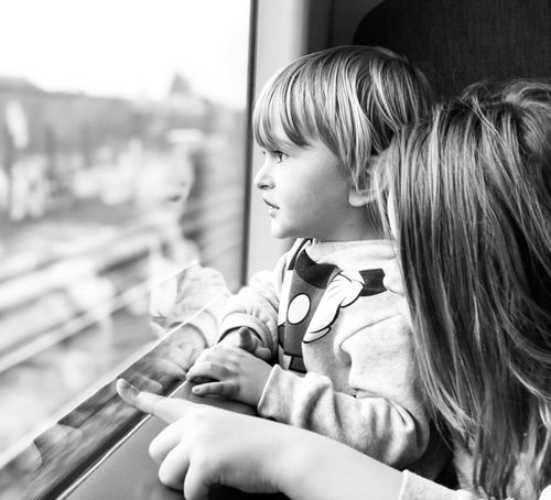 My two favourite human beings Iphonephotography IPhoneography Childhood Makingmemories Jurney Train Station Train Child Childhood Girls Two People Children Only Real People Headshot Close-up Indoors  Day Togetherness People