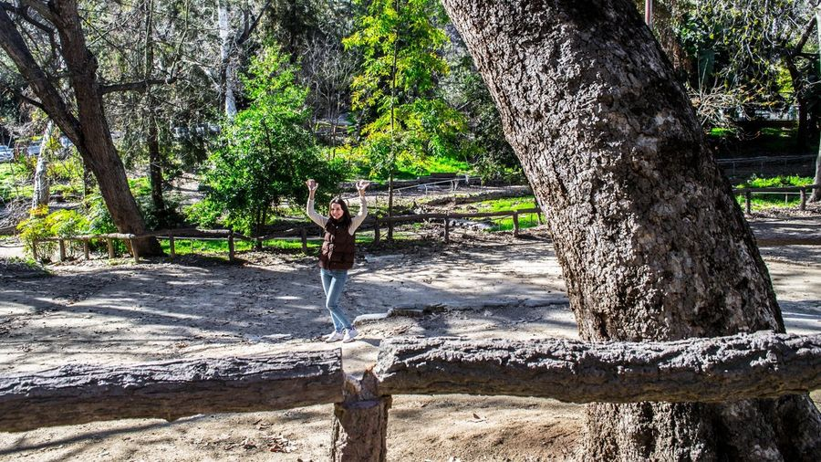 Girl in The Forest - Check out our Los Angeles tours our photos on 500px https://500p California California Love Cat City Forest Friendlylocalguides Girl Los-angeles Nature Nook Park Summer Summer-time Trees USA Visit