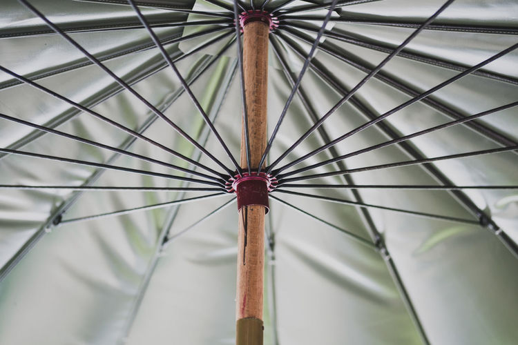 Close-Up Of Open Umbrella