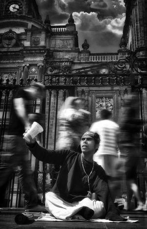 Catedral Ciudad De México Marcos Poor People