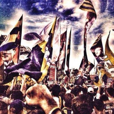 Son kale Fenerbahce  Sarikanarya FenerbahçeYIKILMAZ 1907 sarilacivert istanbul kadikoy diren direnis resist azizyildirim