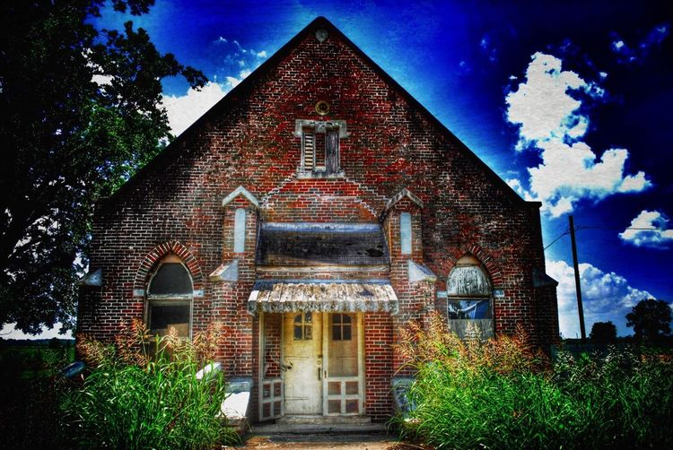 Oaths from the altar, memories won. Mysteries and natures coming undone. There's a church falling down... Mississippi  Church Take Me To Church Rural America Abandonment_issues