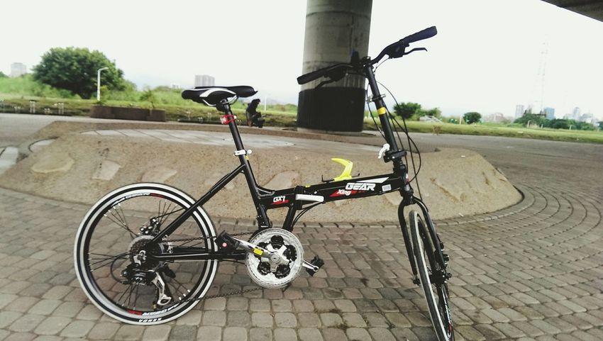 趁沒雨的空檔來牽小折 Newbike Gear Relaxing Riding Bike Fresh Air Exciting City View