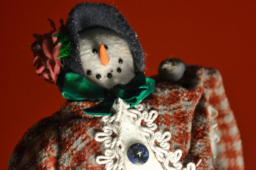 Christmas Christmas Decoration Close-up Happy Snowman Indoors  No People Snow Vintage Winter