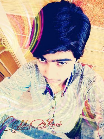 Muhammad Arslan Yellow Handsome Stylish Black Hair