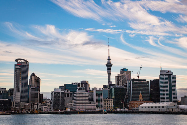 skyline of auckland in the evening from devonport Auckland Travel Architecture Building Building Exterior Built Structure City Cityscape Cloud - Sky Financial District  Landscape Modern New Zealand No People Office Building Exterior Outdoors Sky Skyscraper Spire  Tall - High Tower Travel Travel Destinations Urban Skyline Water The Architect - 2018 EyeEm Awards HUAWEI Photo Award: After Dark