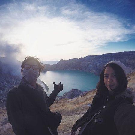 Kawah Ijen 🗻👍 ~ Ijen Holiday Trip INDONESIA Livefolk IjenCrater Kinfolk