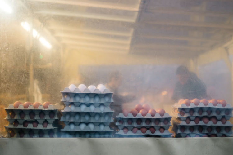 MARKET SCENE Market Food And Drink No People Eggs Large Group Of Objects Smoke - Physical Structure Food Stack Heat - Temperature Day Steam Indoors  Nature Freshness Architecture Business Abundance Sunlight Healthy Eating My Best Photo