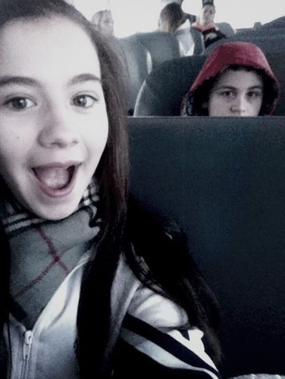 Yesterday On The Bus <3
