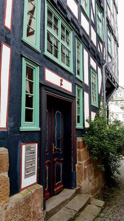 Architecture Building Exterior Door Built Structure Entrance Outdoors Window No People Façade Marburg An Der Lahn Germany Marburg Photography Architecture Low Angle View EyeEmNewHere