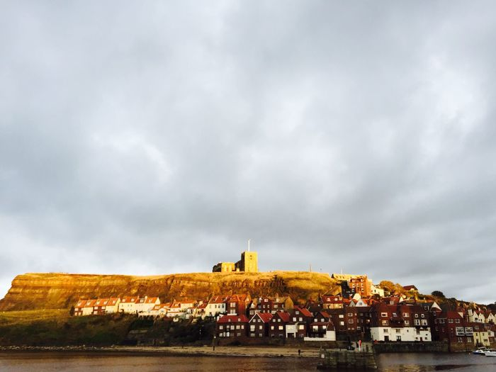 Magic Light Whitby Shot On IPhone 6 Yorkshire Coast Whitby Abbey St Mary's Church, Whitby No Filter