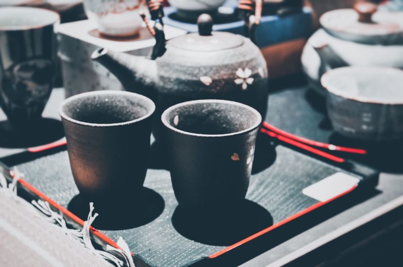 tea-time * Tea Pot Tea Ceremony Tea Cup Tea Time Focus On Foreground Cup Close-up Drink Indoors  Mug Food And Drink Still Life Refreshment Table No People Group Of Objects Group Art And Craft Household Equipment Freshness Autumn Mood