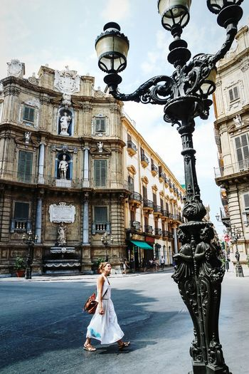 Lookingup in Palermo, Italy Streetphotography Open Edit Eye4photography  Street Lamp Monday Urban Lifestyle