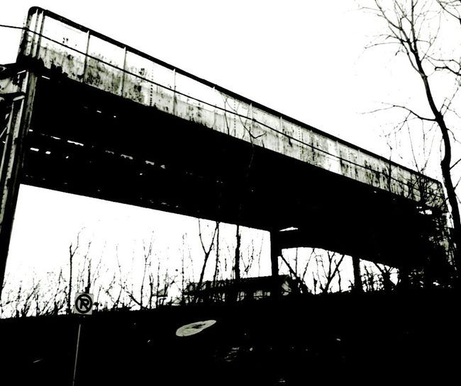 Chicago El Black&white