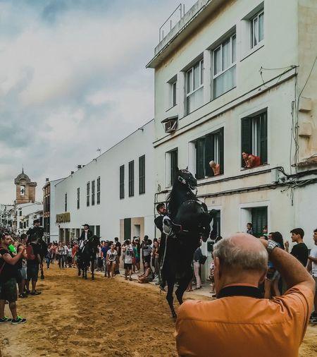 Menorca2017 Holiday 🌞 City Mahón 💕 Horse Race 😚
