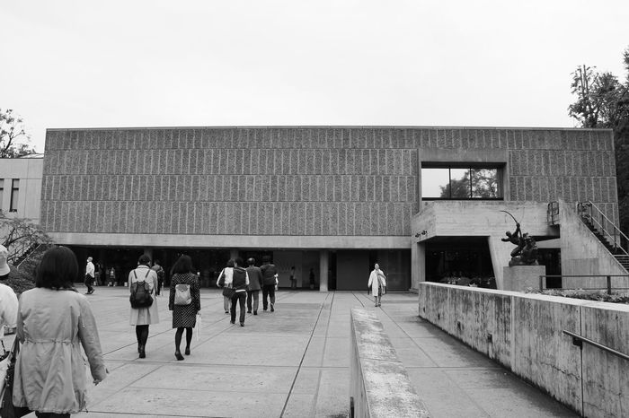 National museum of western art..le corbusier design Bw_collection EyeEm Best Shots - Black + White Architecture_collection Architecture_bw Concrete Lecorbusier