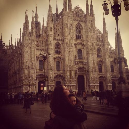 Loveinmilan Duomo Di Milano Hugs & Love  Timeago