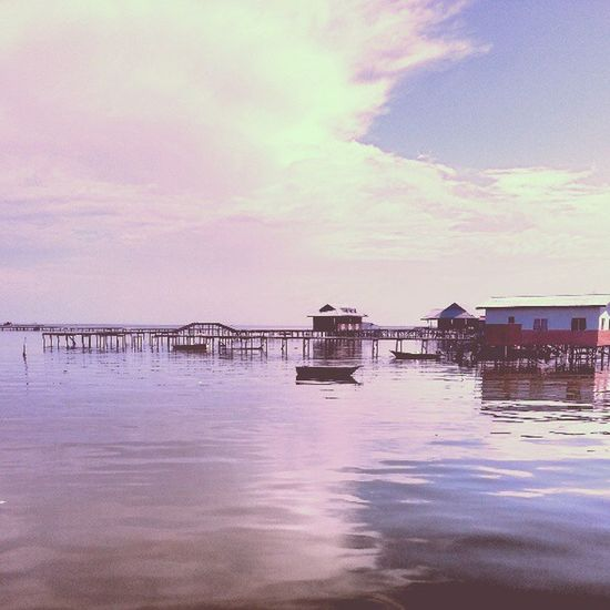 Bebulohlaut Taduh Tenang Panas lagun airmasin jambatan labuan malaysia brunei asia