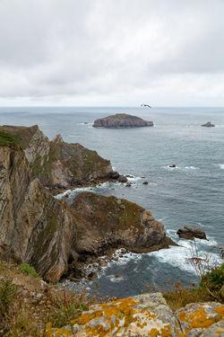 Asturias Cabo De Peñas Cliff Coastline Cultures Day Landscape No People Outdoors Scenics Sea SPAIN Tranquil Scene Travel Travel Destinations