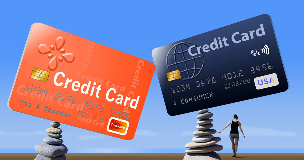 Credit card balances are illustrated here with cards balanced on rocks on the beach. Account Balance Balance Bank Beach Credit Credit Card Illustration Rocks Tipping Point