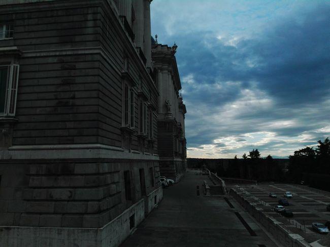 Palacio Real De Madrid Palacio Real Palacio Real, Madrid, Spain Palacio Real / Royal Palace Royal Palace Royal Palace Of Madrid Plaza De Oriente Architecture Arquitecture Sky Blue Sky Clouds Clouds And Sky Cloudy Cloud - Sky