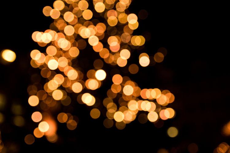 Leipzig Black Background Celebration Christmas Christmas Decoration Close-up Defocused Illuminated Night No People Outdoors