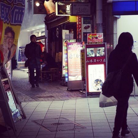 Streetphotography Nightlife 新宿区
