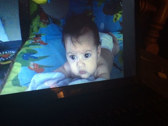 Guess who skyped with aunty last night :) Love Niece  MissHer