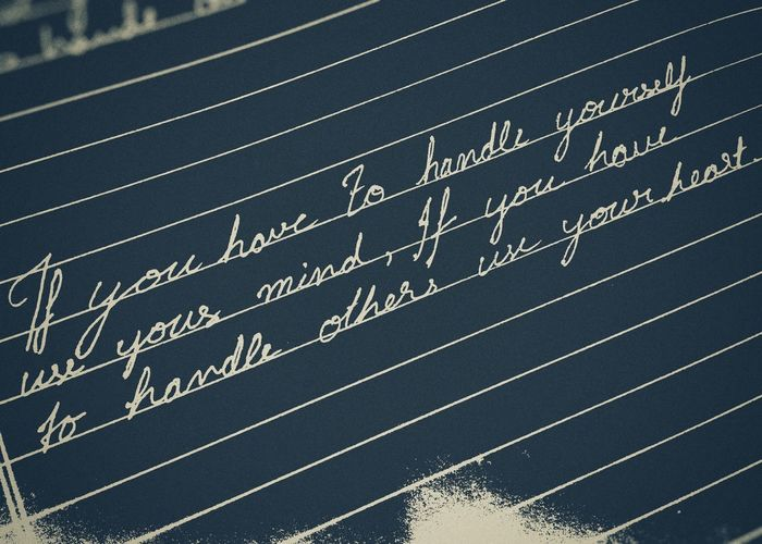 Personal quote