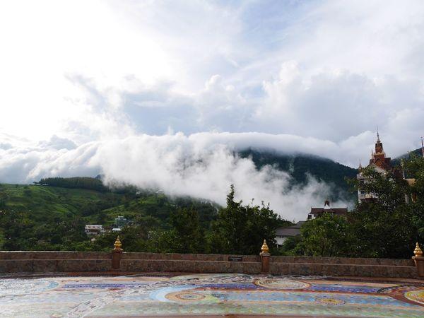 Mist Temple KhaoKho,Thailand Pha Sorn Kaew Temple Thailand