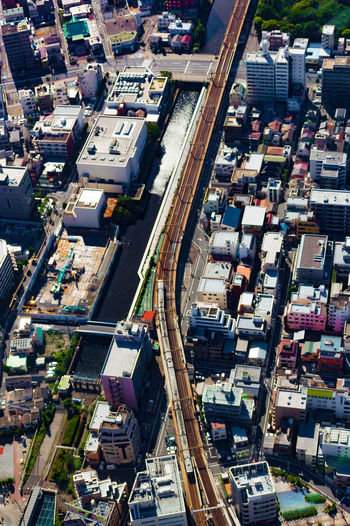 View from Skytree Aerial View Architecture City City Life Cityscape High Angle View Modern Street Tokyo Tokyo,Japan