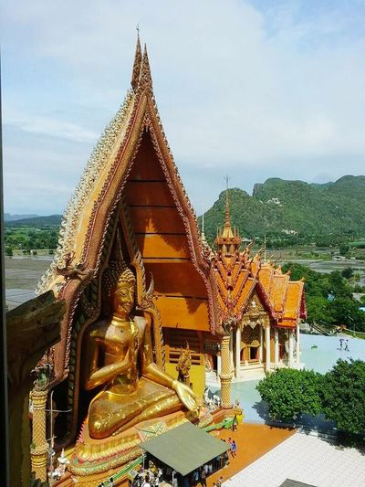 "Big bhuddha at Kanjanaburi. ""Wat Tam Sae"" Travel Big Temple Thailandtravel ThailandOnly Kanjanaburi, Thailand Miles Away"