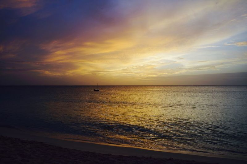 Beach Beauty In Nature Cloud - Sky Day Horizon Over Water Idyllic Nature No People Outdoors Reflection Sand Scenics Sea Sky Sunset Tranquil Scene Tranquility Water Wave