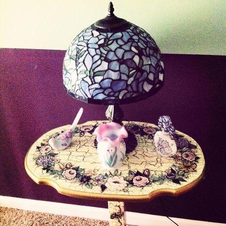Foodp Tiffany Lamp Decor Light