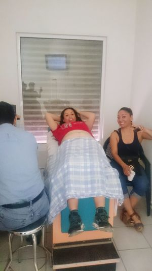 dopler when Fadhila was about to come Comarca Lagunera FIM Coahuila, México God Is Good God Is Great My Beloved Wife Claudia My Beloved Daughter Fadhila My Fadhila Two People Indoors  Sitting Domestic Life Home Interior Mature Adult Adult People Women