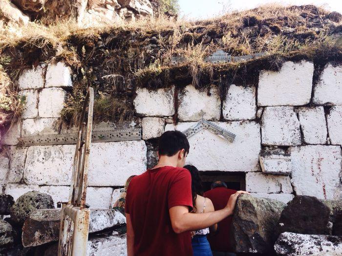 Georgia Religion History Old Ruin Old Architecture Stone Wall