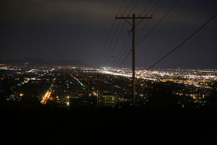 Cable City City Life Cityscape Dark Development Electricity  Full Frame Illuminated Landscape Light Modern Nature Night Night Photography No People Outdoors Residential District Sky Street Photography Taken By M. Leith